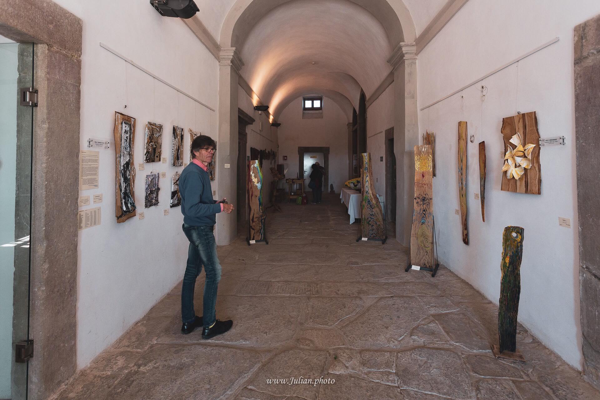 Palazzo Bourbon del Monte, sede di alcune delle esposizioni