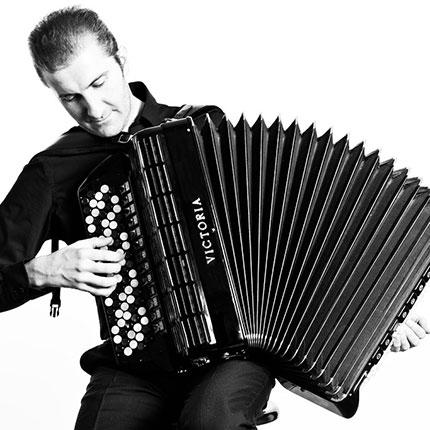 Christian Riganelli, fisarmonicista